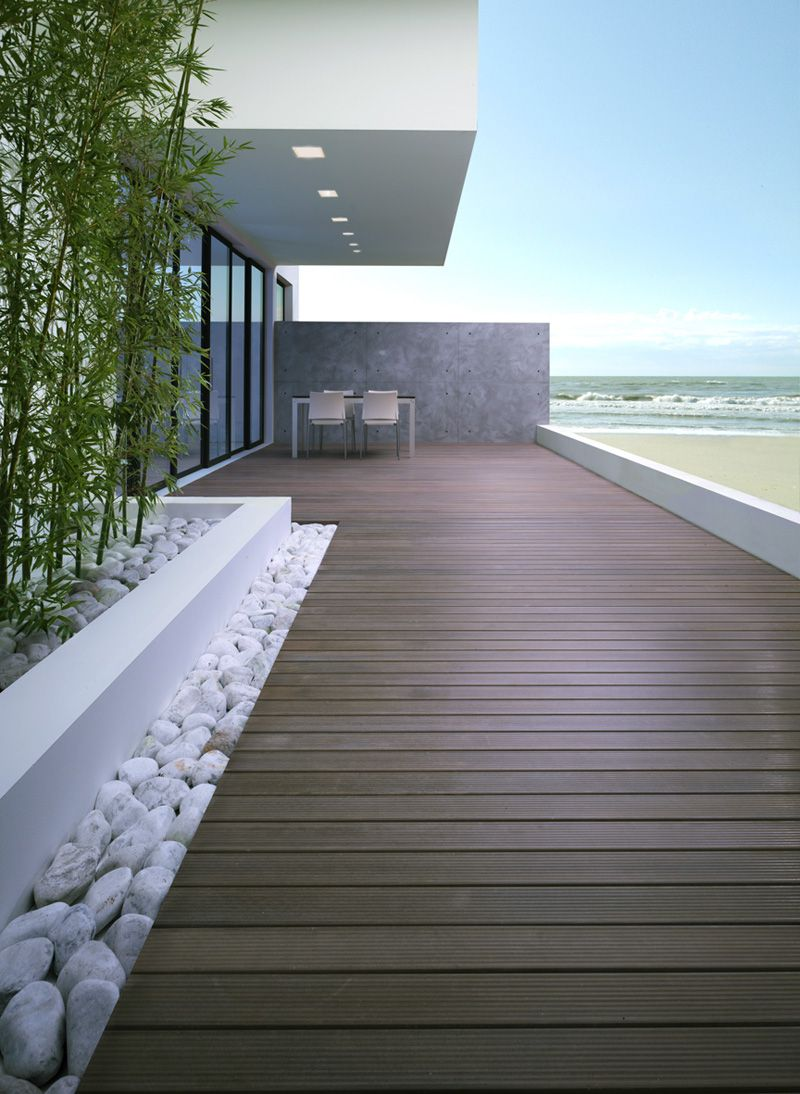 Pinterest Terrasse Bois Decking In Recomposed Stone By Listotech Decking Roof Garden