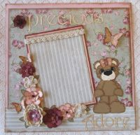 Vintage Scrapbooking Ideas | Scrapbook Page Girl Vintage ...