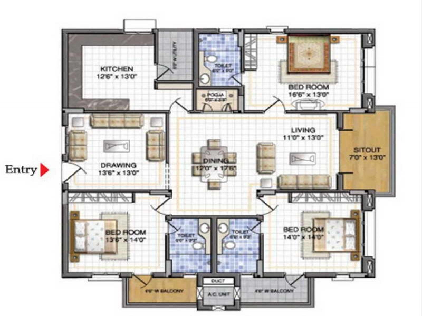 Free Online House Design Home Planning Ideas 2017 Featured