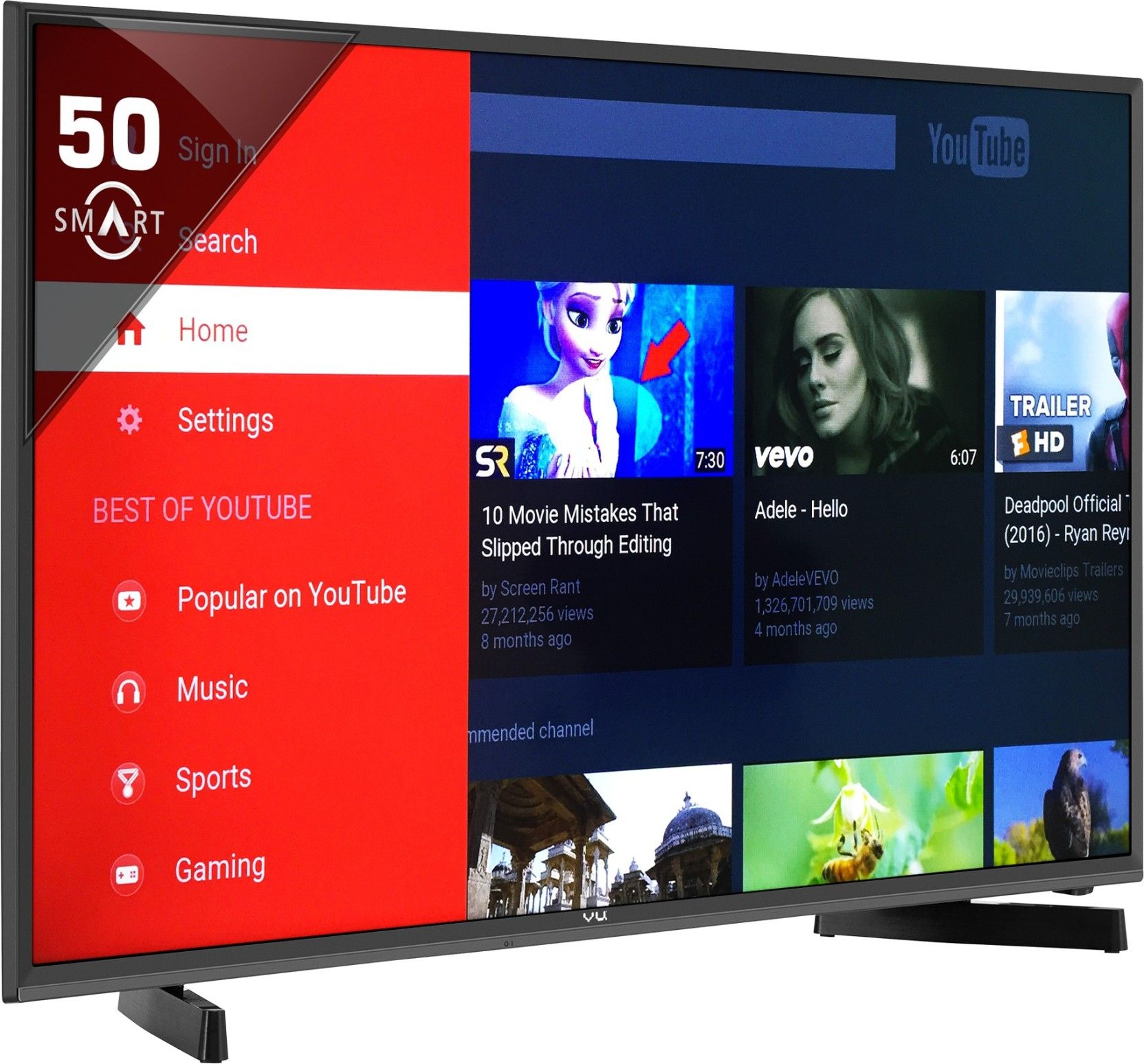 Led Online Shop Flipkart Buy Vu 127cm 50 Full Hd Smart Led Tv Online At