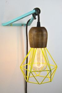 Details about wall lighting bracket hook frame pendant ...
