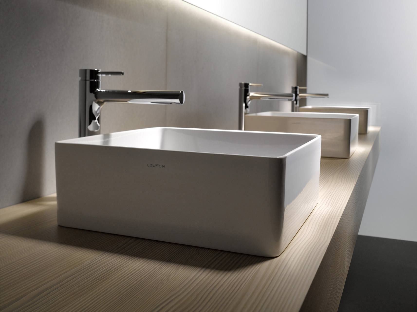 Designer Toilets And Sinks A More Modern Bathroom Trough Sink Http Sinks