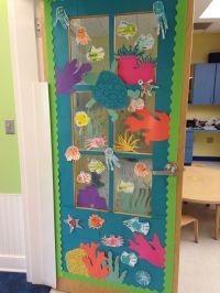 Under the sea ocean classroom door decoration idea | My ...