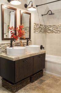 Accent Tile Bathroom on Pinterest | Vertical Shower Tile ...