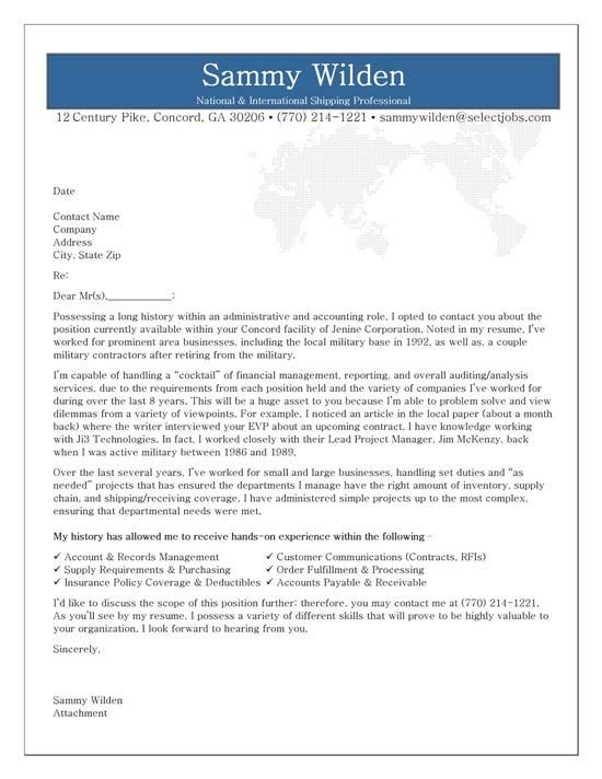 Administrative Cover Letter Example Cover letters, Cover letter - writing an attention grabbing career objective