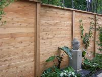 Horizontal Wood And Metal Fence | homeszu.com - Home Ideas ...