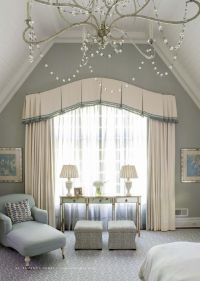 Classical bedroom curtain - curved | Window Treatments ...