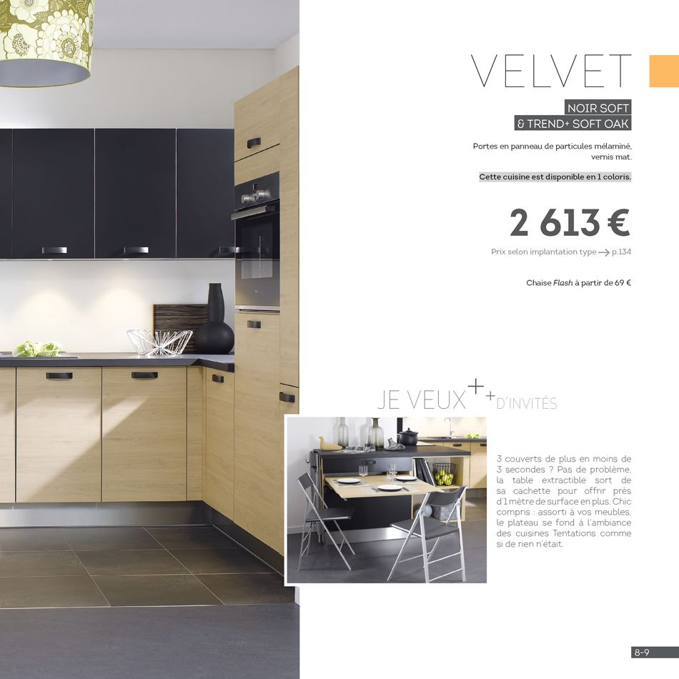 Plateau Pour Table De Cuisine Cuisine Cuisinella Catalogue Affordable Promo Cuisine Schmidt