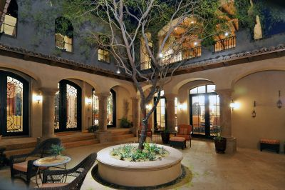Spanish Style Homes with Courtyards | Spanish Colonial ...