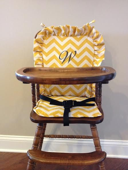 High Chair Cover Highchair Cover High Chair Pad High