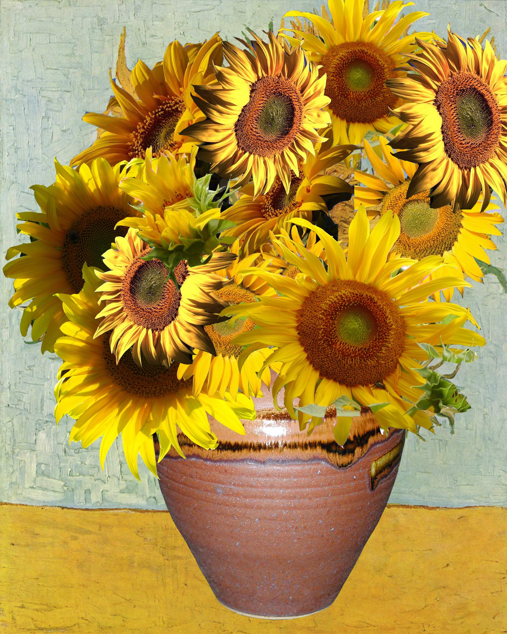 Vincent Van Gogh Paintings Sunflowers Van Gogh Sunflowers Sunflowers Van Gogh And Vans
