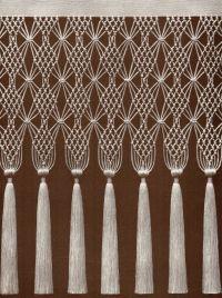 1000+ ideas about Macrame Curtain on Pinterest   Macrame ...