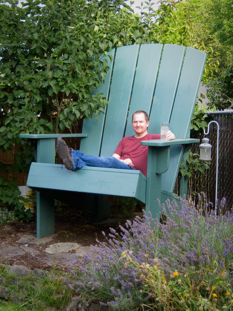 Giant Adirondack Chair Plans Read The Stories And The