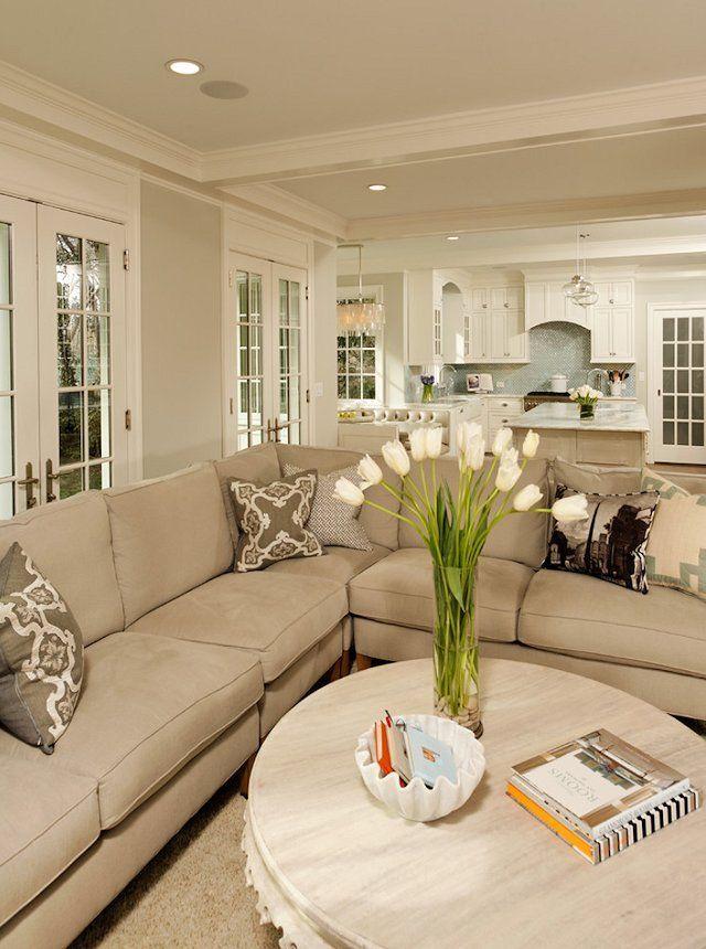 33 Beige Living Room Ideas Beige living rooms, Beige sofa and - beige couch living room