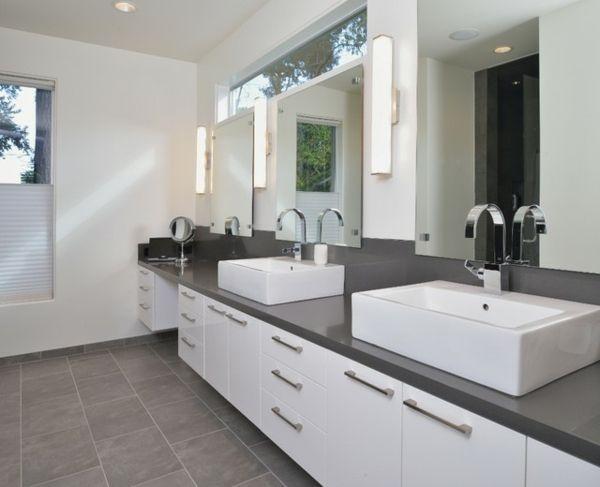 Wann sollen wir Grau im Badezimmer haben - http\/\/wohnideennde - badezimmer in grau