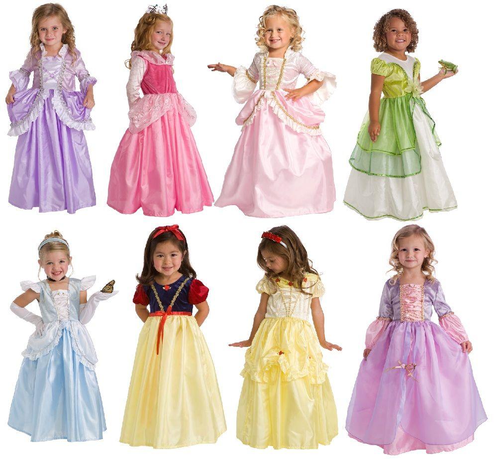 Princess party 3 dress set at everything princesses com