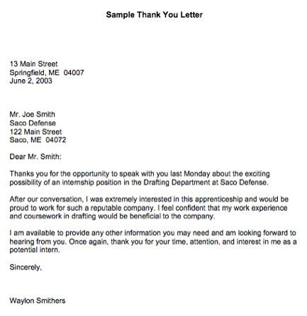 professional thank you letter - Google Search Being a - professional thank you letter