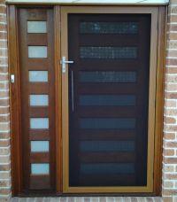 SecureView Hinged Security Screen Door Stainless Steel ...