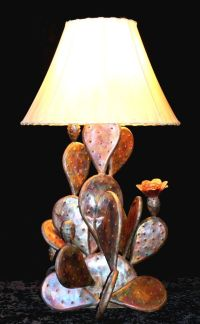 Copper Cactus Lamps - Southwestern - Handcrafted Lighting ...