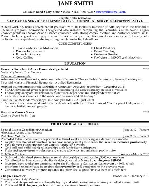 Click Here to Download this Customer Service Representative Resume - resume templates for customer service