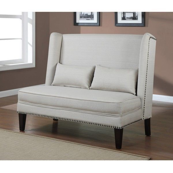 MODERN LOVESEAT COUCH SOFA LIVING ROOM DINING BENCH SETTEE COUCH - bench for living room