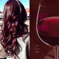 Red Wine Hair Colour #redhair #burgundyhair #haircolour ...