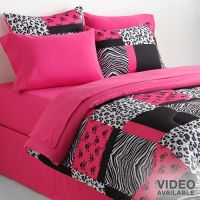 walmart zebra bedsets for twin size bed | Animal Theme ...