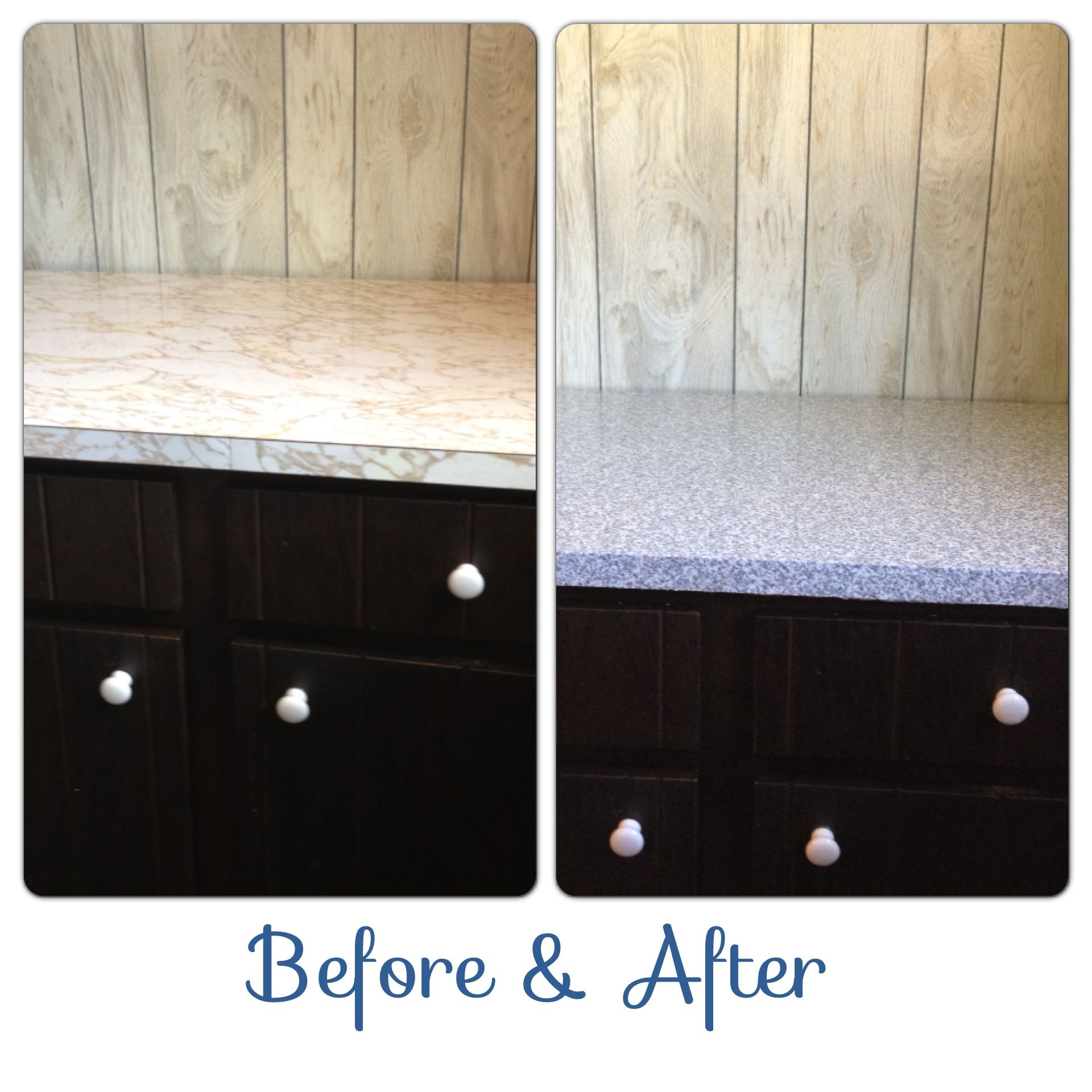 Faux Granite Countertops Lowes Granite Contact Paper Countertops Before And After In A