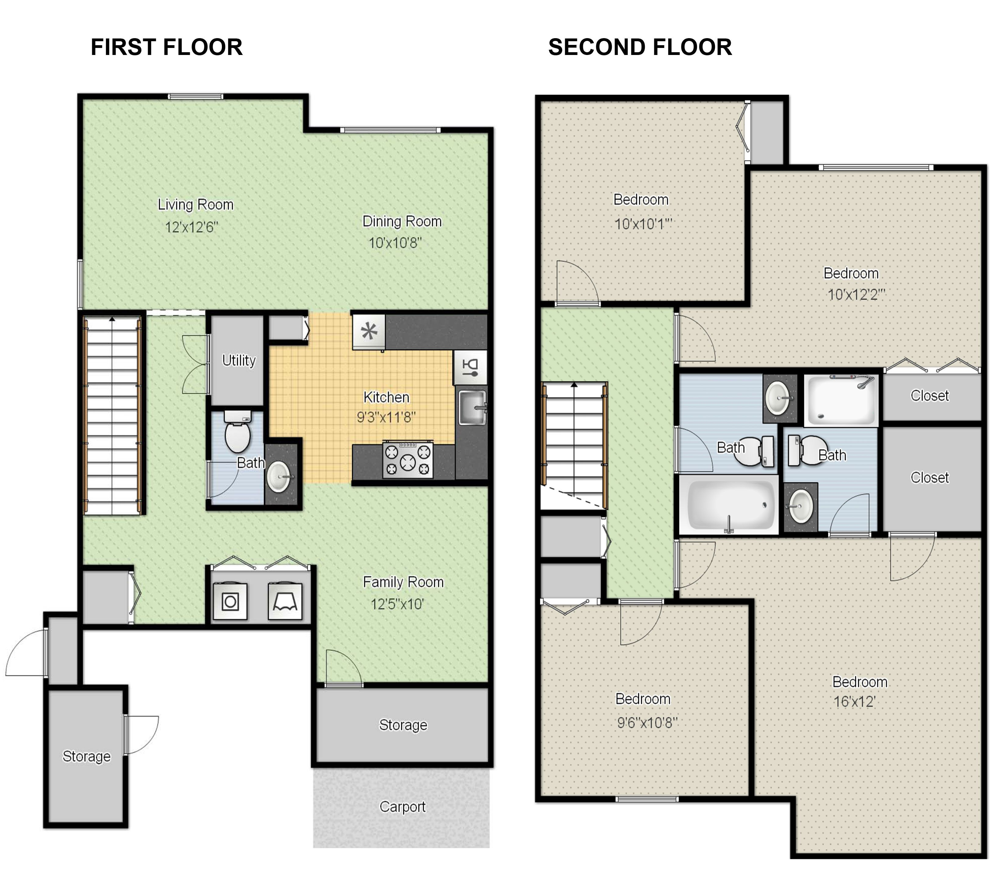 Bungalow Haus Online Planen Create Floor Plans Online For Free With Large House Floor