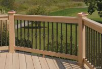 others-majestic-log-cabin-deck-railing-designs-with ...