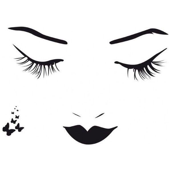 beautiful-artistic-female-face-abstract-design-wall-art-decor-idea - artistic wall design