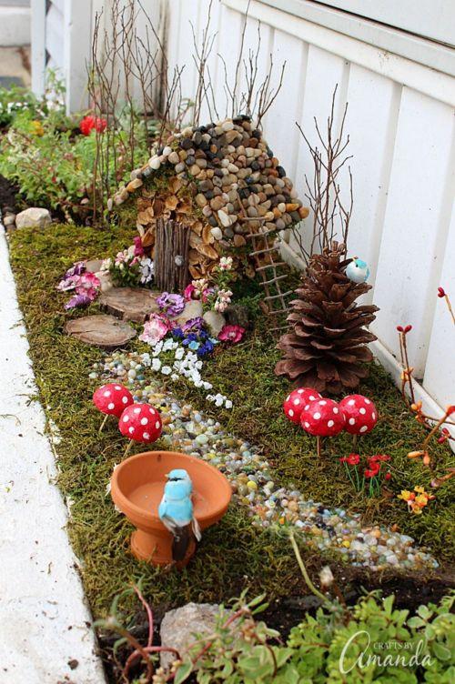 Medium Of Diy Fairy Garden For Kids