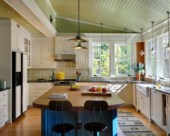lake house kitchen designs Intriguing Summer Lake House - lake house kitchen ideas