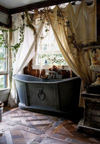 rustic BATHTUB | Bohemian Hippie Lifestyle | Pinterest ...