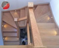 Oak double winder staircase | Staircases | Pinterest ...