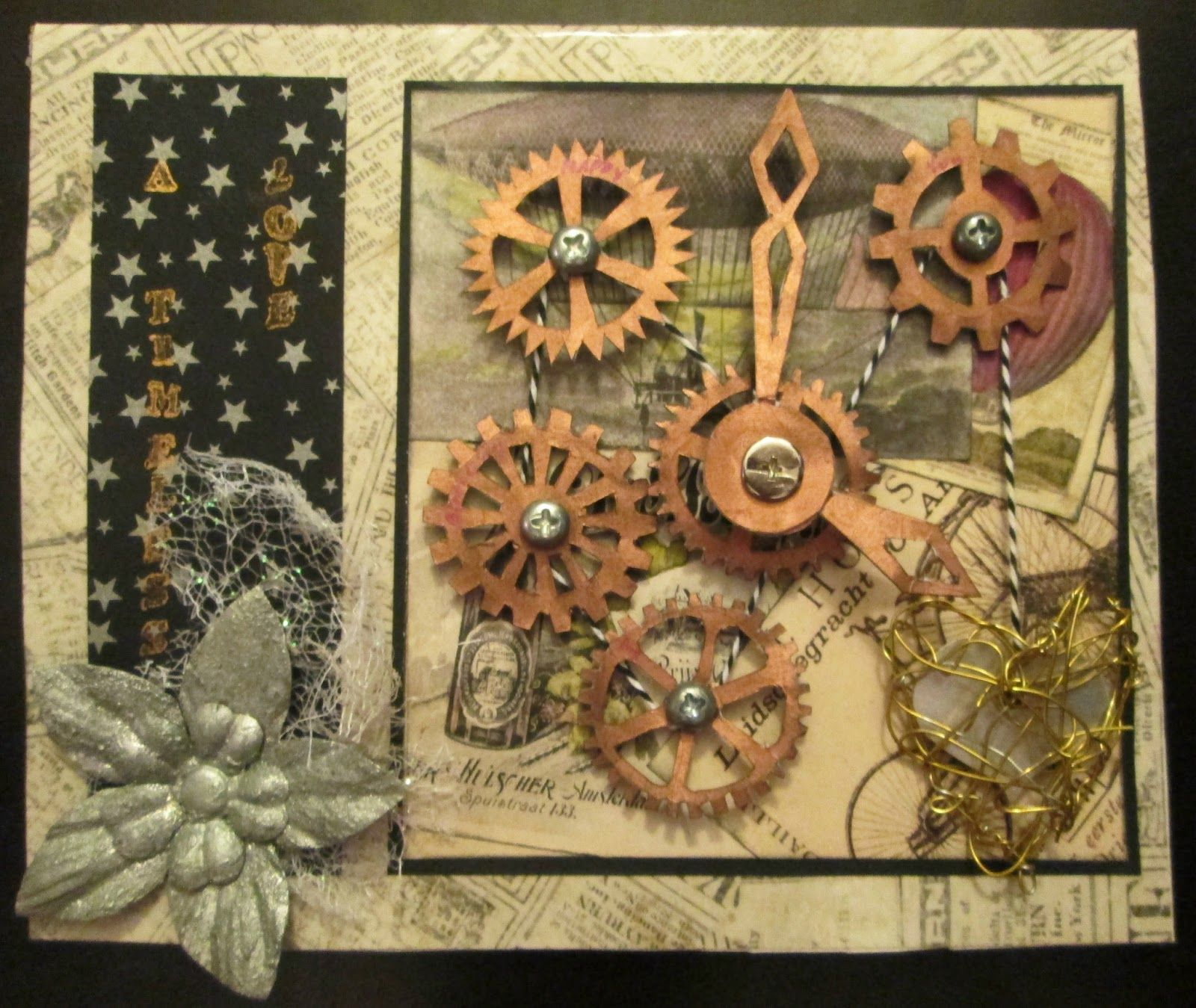 Steampunk Ideas Handmade Steampunk Birthday Card Cards 4 Men Pinterest