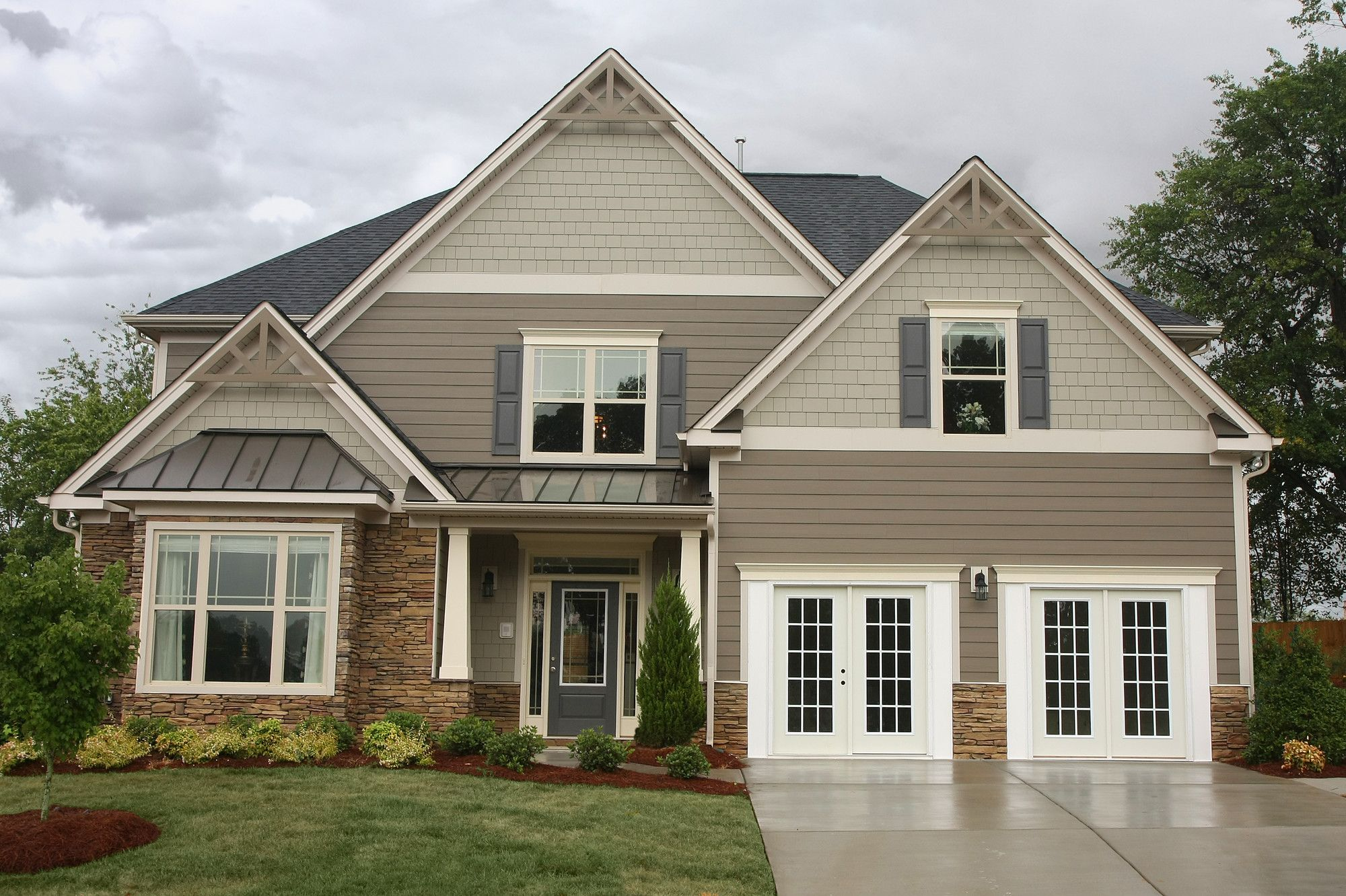 Image result for night grey hardie board design ideas pinterest exterior house and house colors