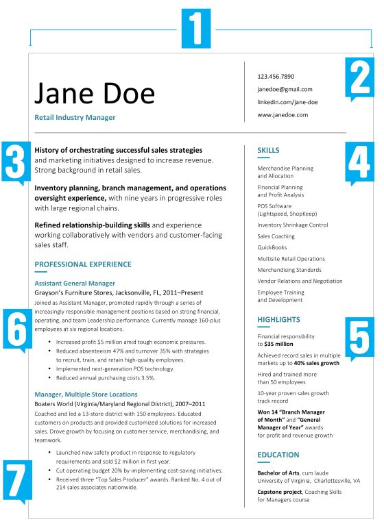 What Your Resume Should Look Like in 2017 Resume, Roman and - what should your resume look like