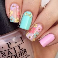 50 Flower Nail Designs for Spring | Flower nail designs ...