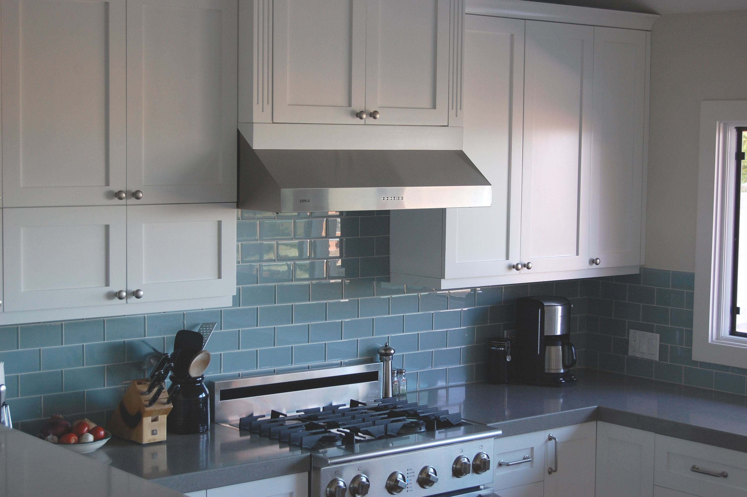 Kitchen Design Subway Tile Backsplash Best Backsplash For Dark Cabinets Sky Blue Glass Subway