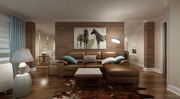 Wohnzimmer Farben Braun. Wohnzimmer Braun Beige Streichen