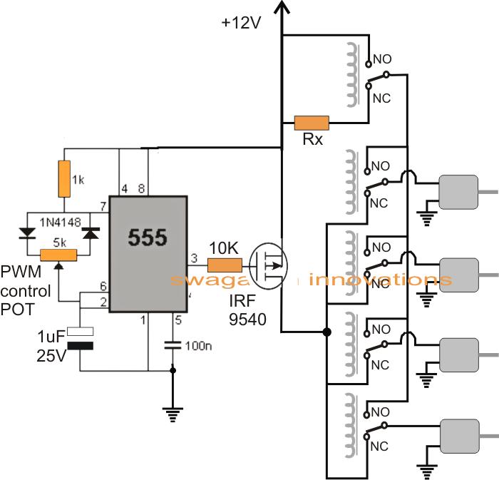 quadcopter electrical diagram