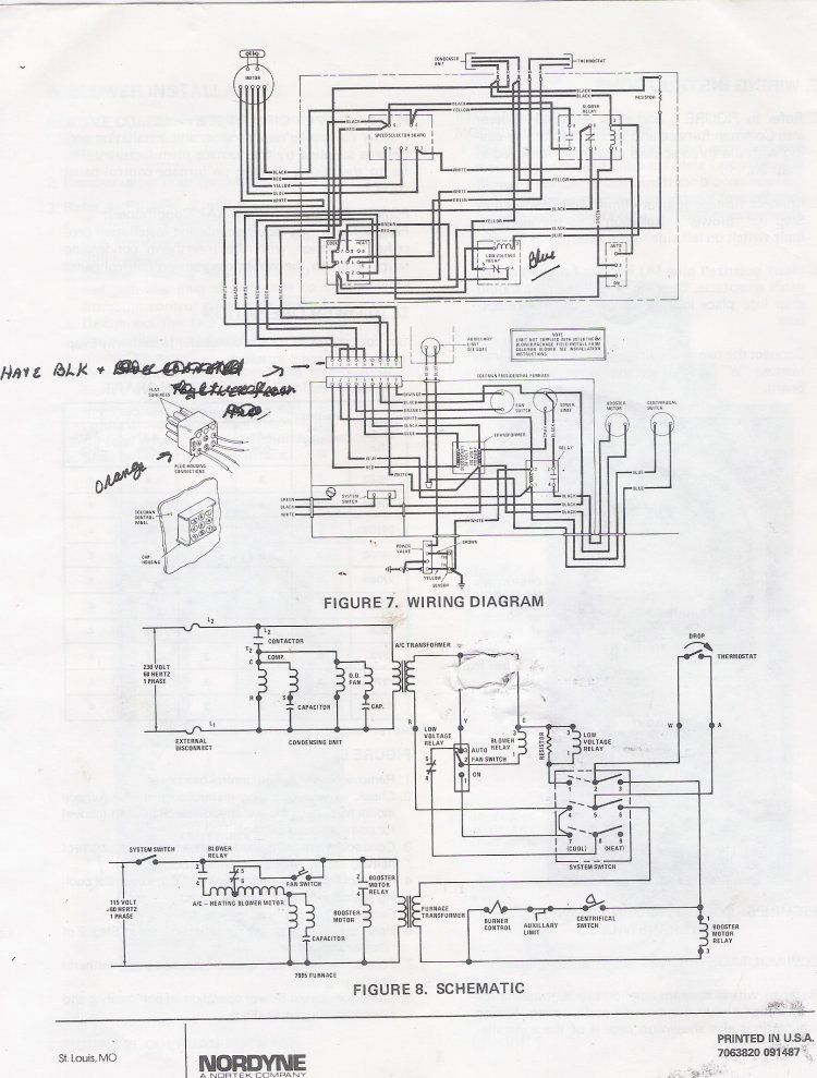 wood electric furnace wiring diagram