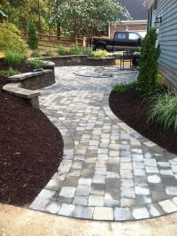 walkway designs and patio designs | Paver Patio/Walkway ...