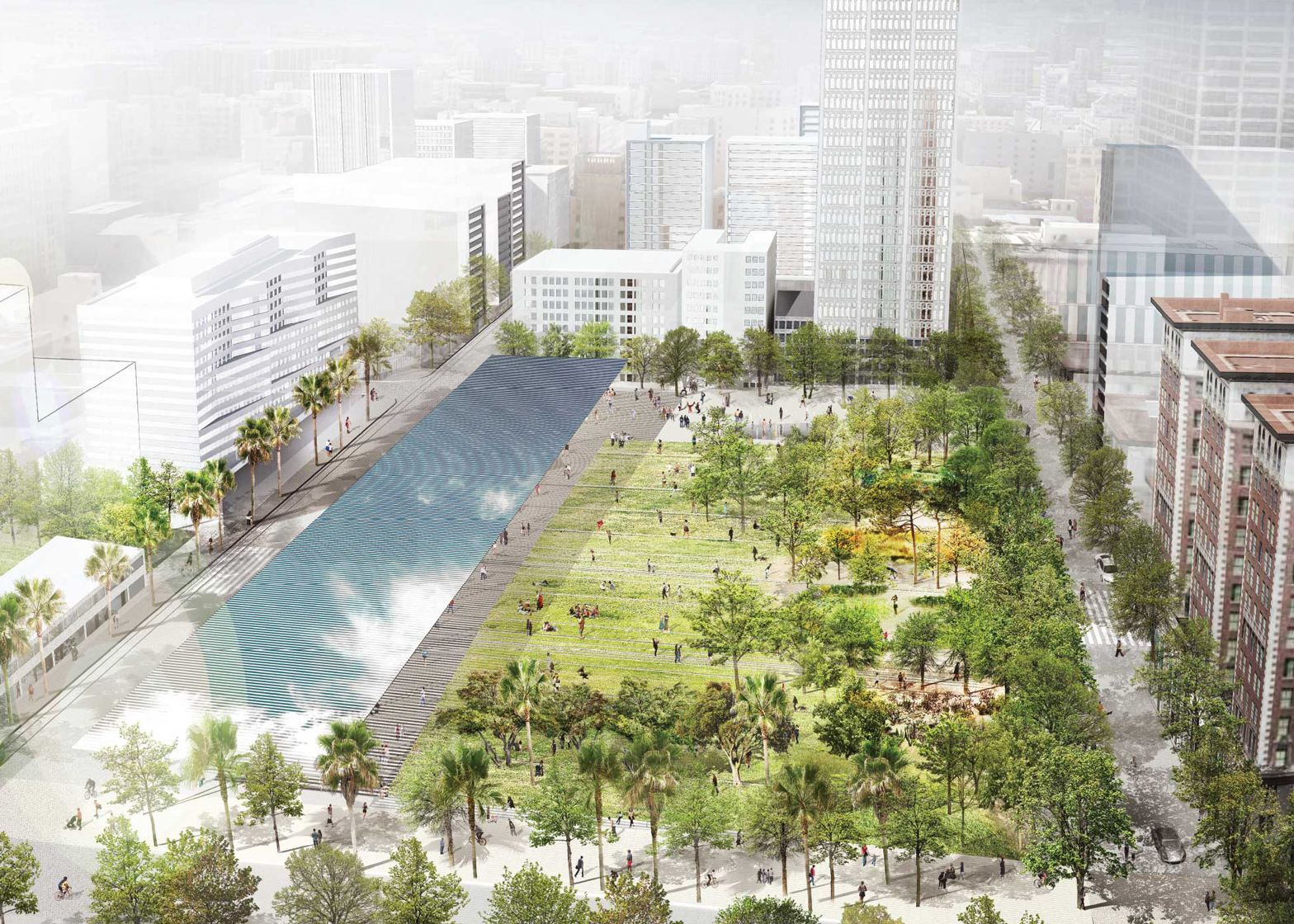 Los Angeles Landscape Architects Landscape Architecture - Google-søgning | Urban Renderings