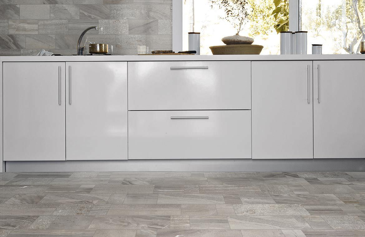 gray kitchen floor gray kitchen floor gray tile kitchen floor with white cabinets Google Search gray tile kitchen floor with white