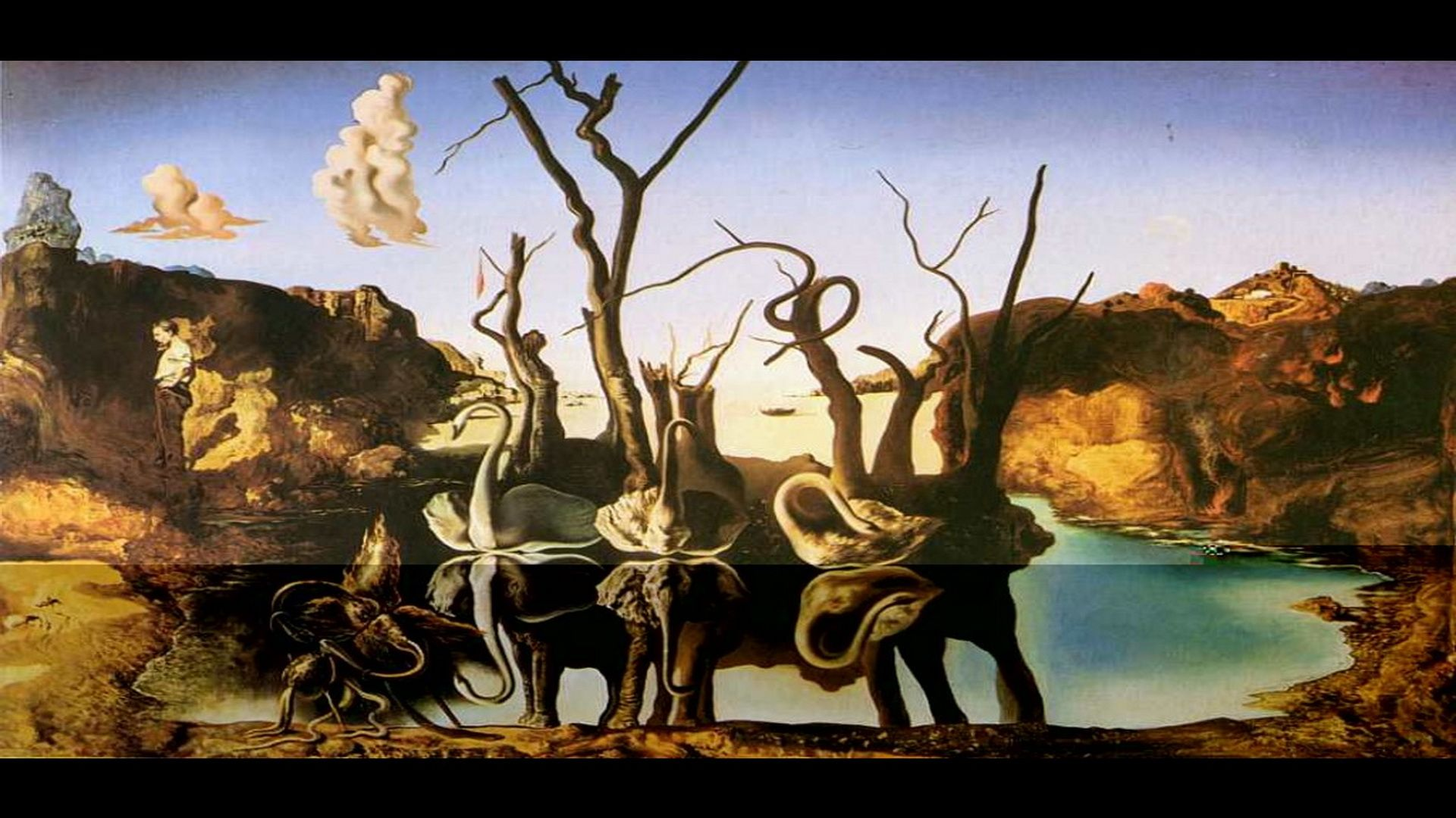 Dali Cuadros Artwork By Salvador Dali Salvador Dalí Wallpaper Swans