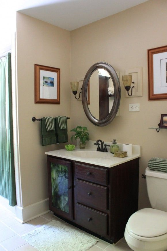 Bathroom Decorating Ideas On A Budget With Black Accent And Shower - bathroom ideas on a budget