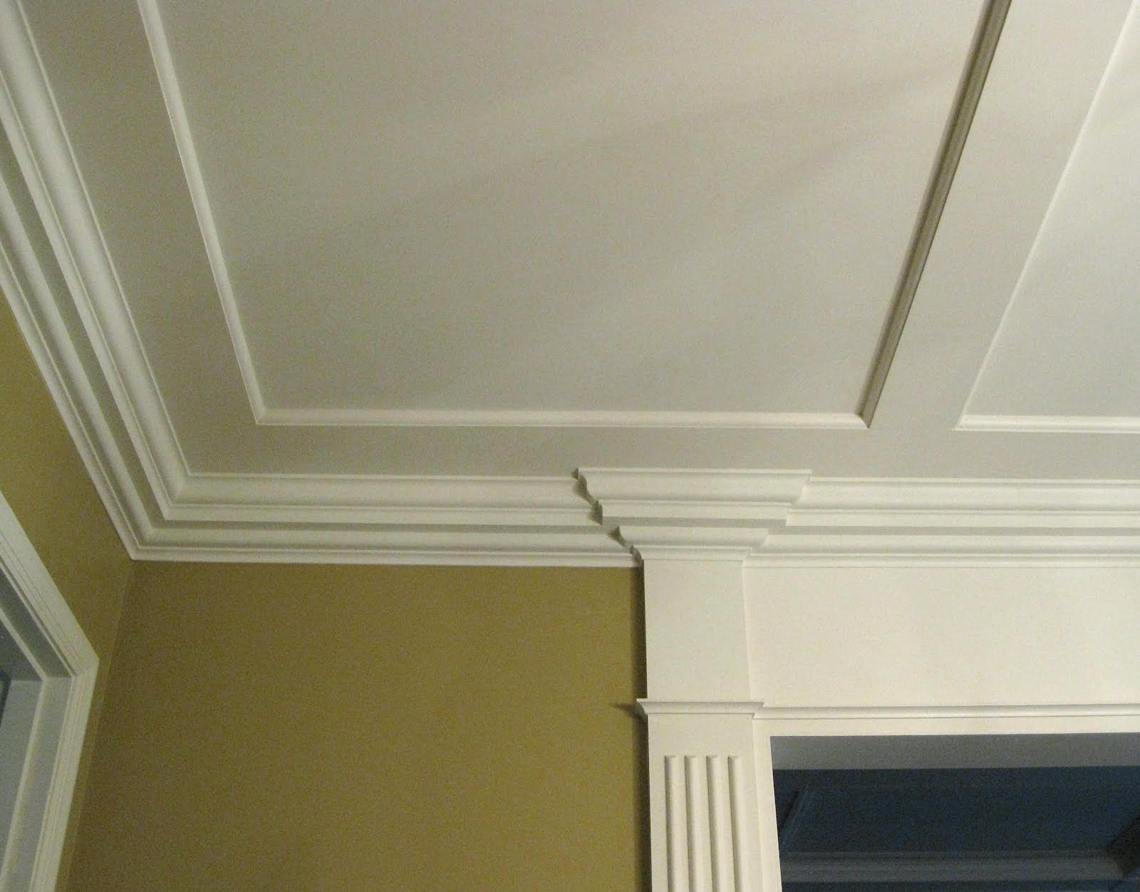 Bedroom Ceiling Moulding Wall Molding Ideas Ceilings Pinterest Molding Ideas