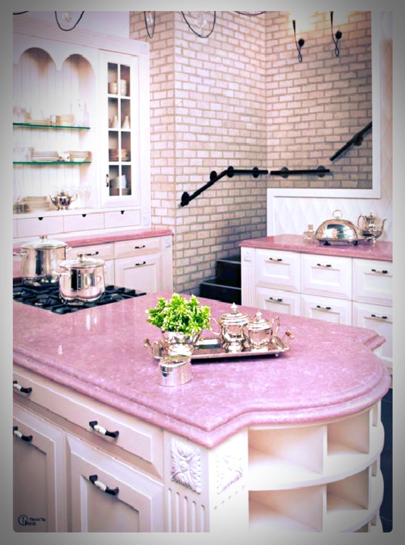 Pastel Pink Kitchen Accessories Pink Kitchen Done Right Pretty In Pink Pinterest